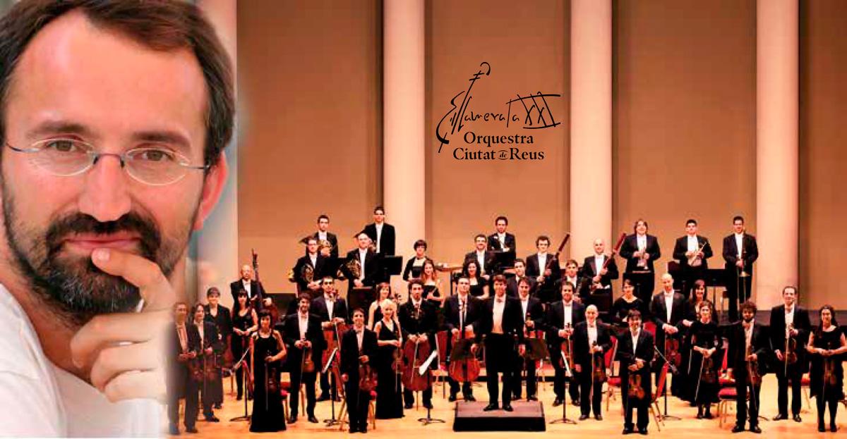 David Puertas amb l'Orquestra Camerata XXI-Ciutat de Reus
