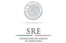 Logo Consulado de México en Barcelona